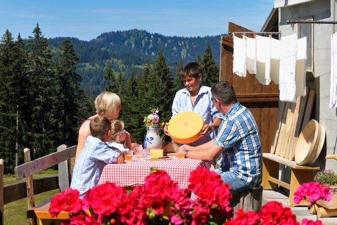 Alpchäs-Weg mit Chäs(S)pass