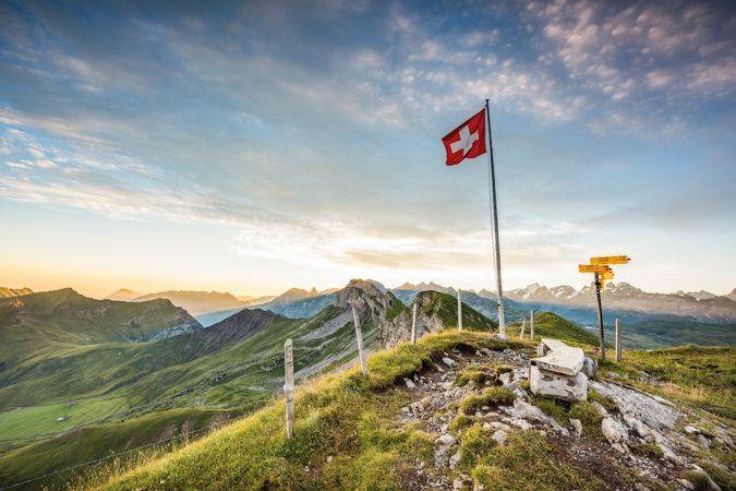 Europaleiter - zum Mittelpunkt der Schweiz