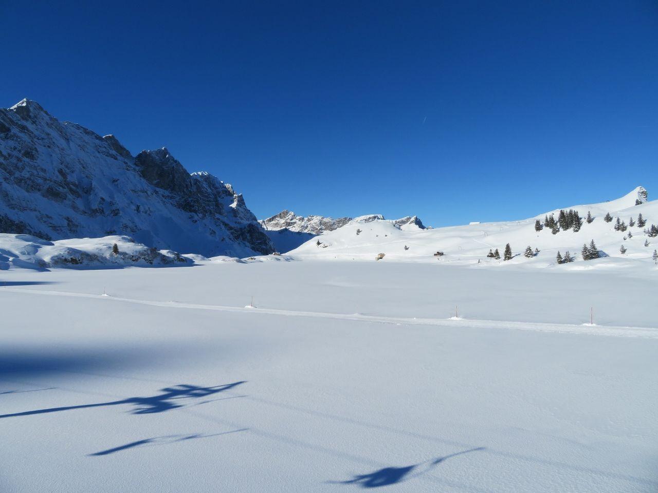 Snowshoe round trail Trübsee
