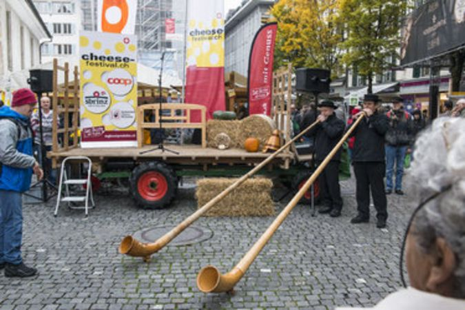 Swiss Cheese Festival in Lucerne