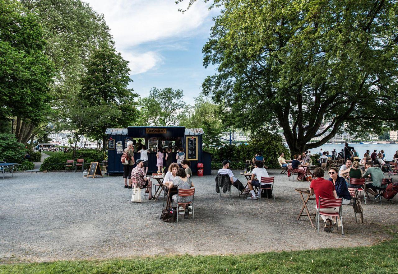 Summer bars in Lucerne