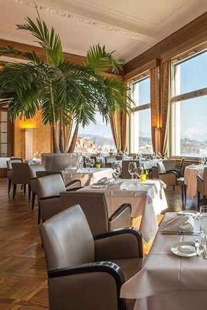 Scala Restaurant im Art Deco Hotel Montana
