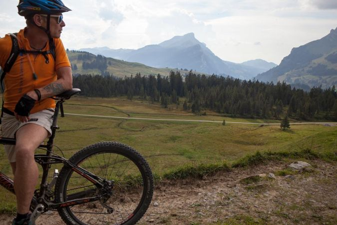 Bike-Rundtour vom Salwideli via Arniberg zurück zum Salwideli