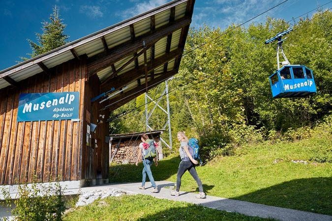 Round tour Musenalp
