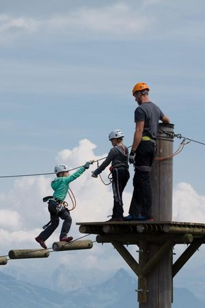 Fräkmüntegg Pilatus rope park