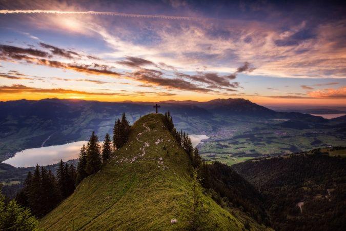 Gipfelwanderung zum Stuckli Chriiz, Sachseln