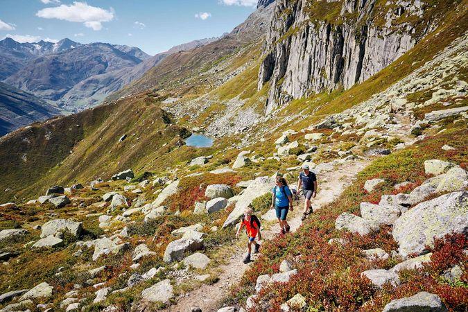 Furka Höhenweg (Urschner Höhenweg)