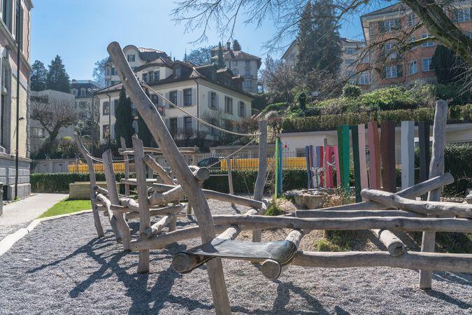 Aire de jeu Dula, Säli & Pestalozzi, Lucerne