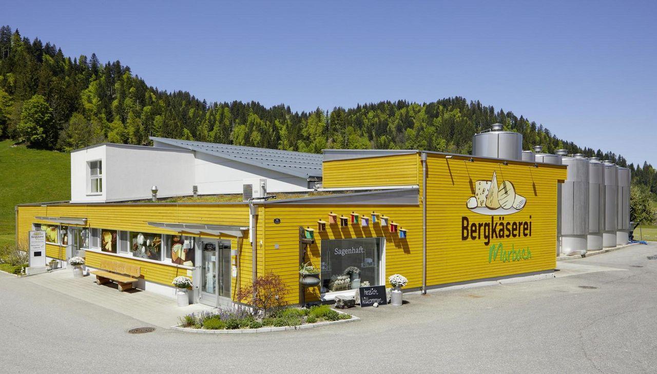 Marbach Alpine dairy