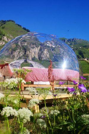 Bubble Übernachtung Isenthal