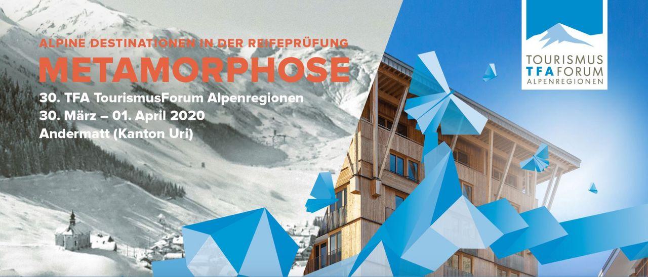 30. TFA TourismusForum Alpenregionen