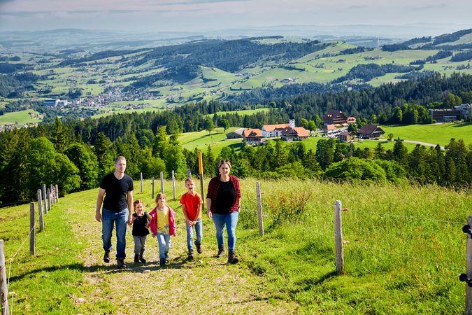 Rundwanderung Heiligkreuz-Farnere-First