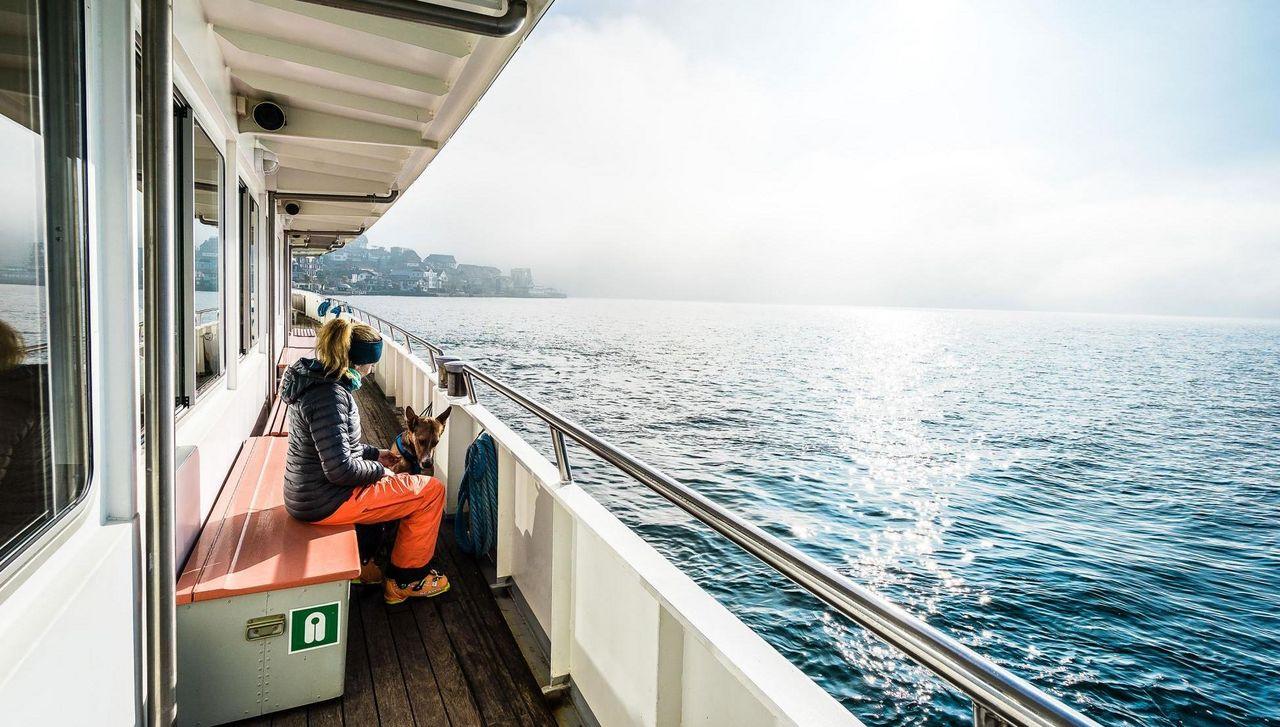Schiff Richtung Beckenried