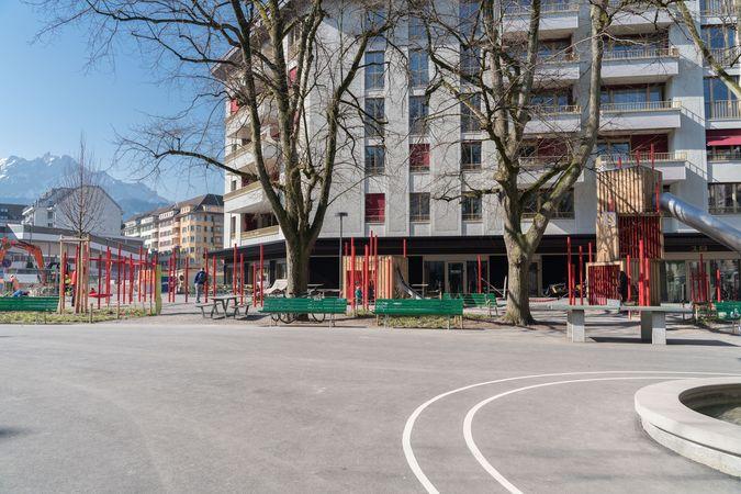 Aire de jeu Bleicheranlage, Lucerne