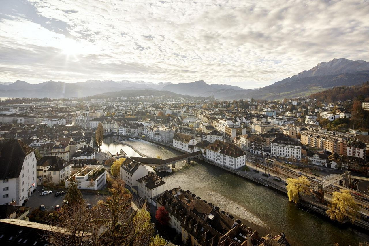Autumn in Lucerne