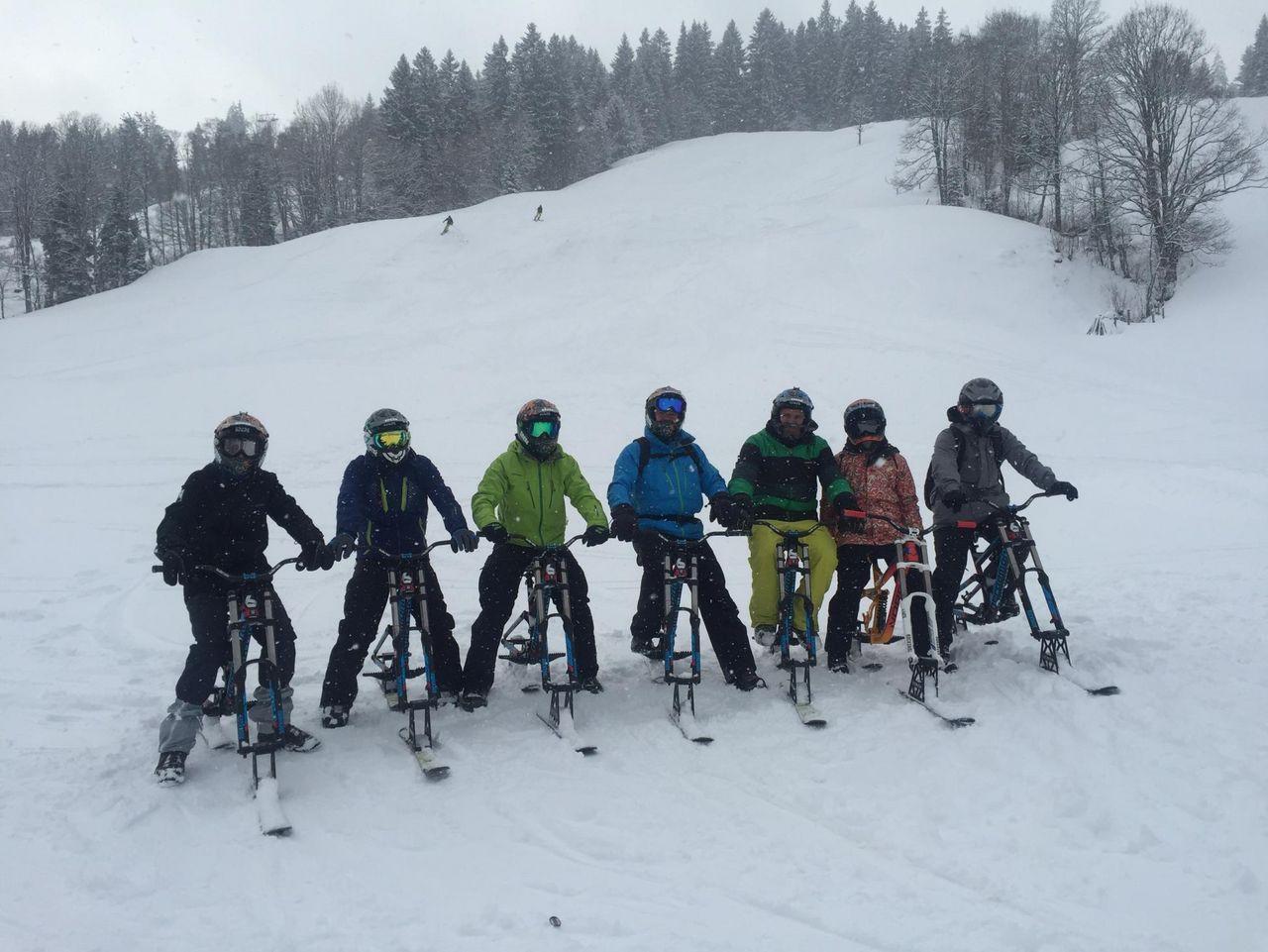 Snowbiken