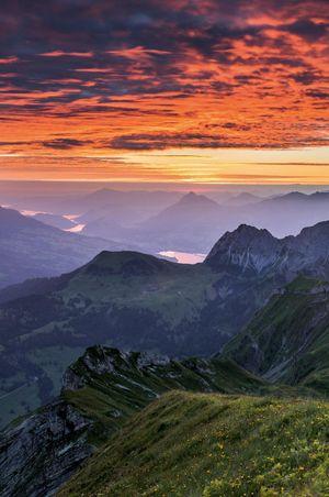 5 plus beaux lieux où admirer le lever du soleil en Suisse centrale