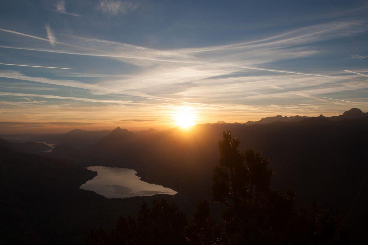 Sonnenaufgang Giswilerstock