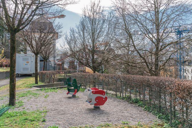 """Aire de jeu """"Wesemlinrain"""", Lucerne"""