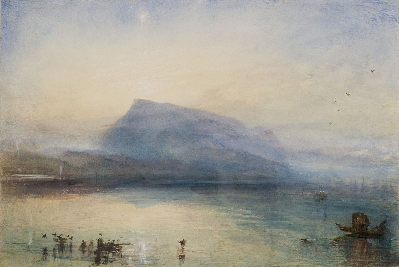 «Turner. The sea and the Alps» at the Museum of Art Lucerne