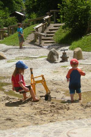 Wasserspielplatz Flühli