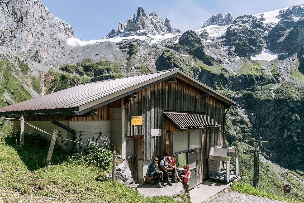 Alpkäse-Trail Family Etappe Blackenalp