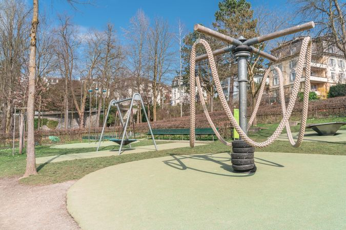"Playground ""Alter Friedhof"", Lucerne"