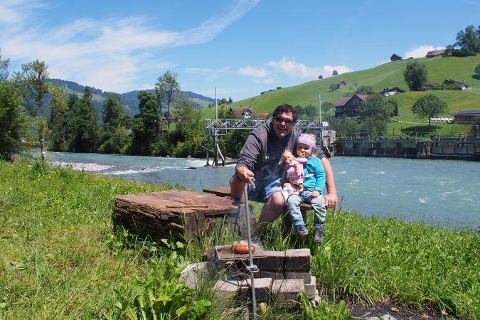 Aawasser barbecue spot, Oberdorf