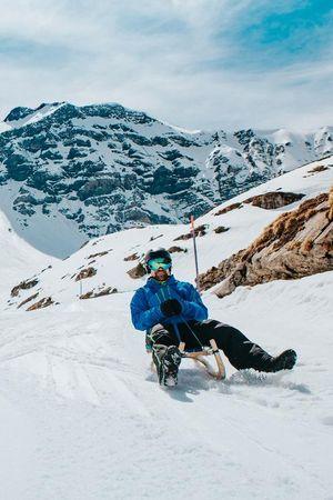 Die längste Schlittelpiste der Zentralschweiz