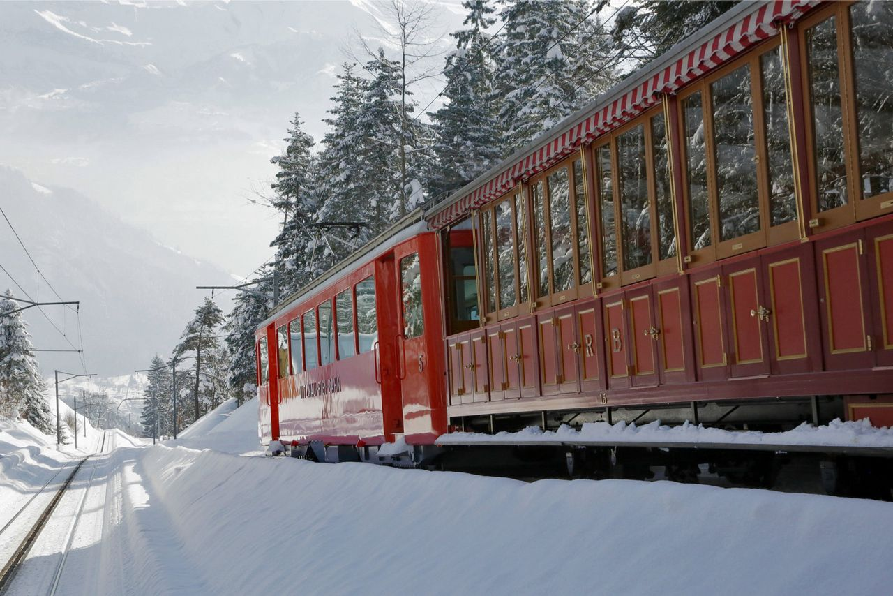 Winter excursion Rigi