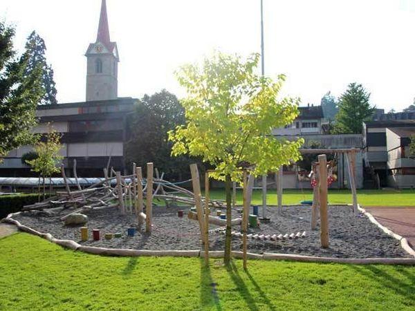 Spielplatz beim Dorfplatz