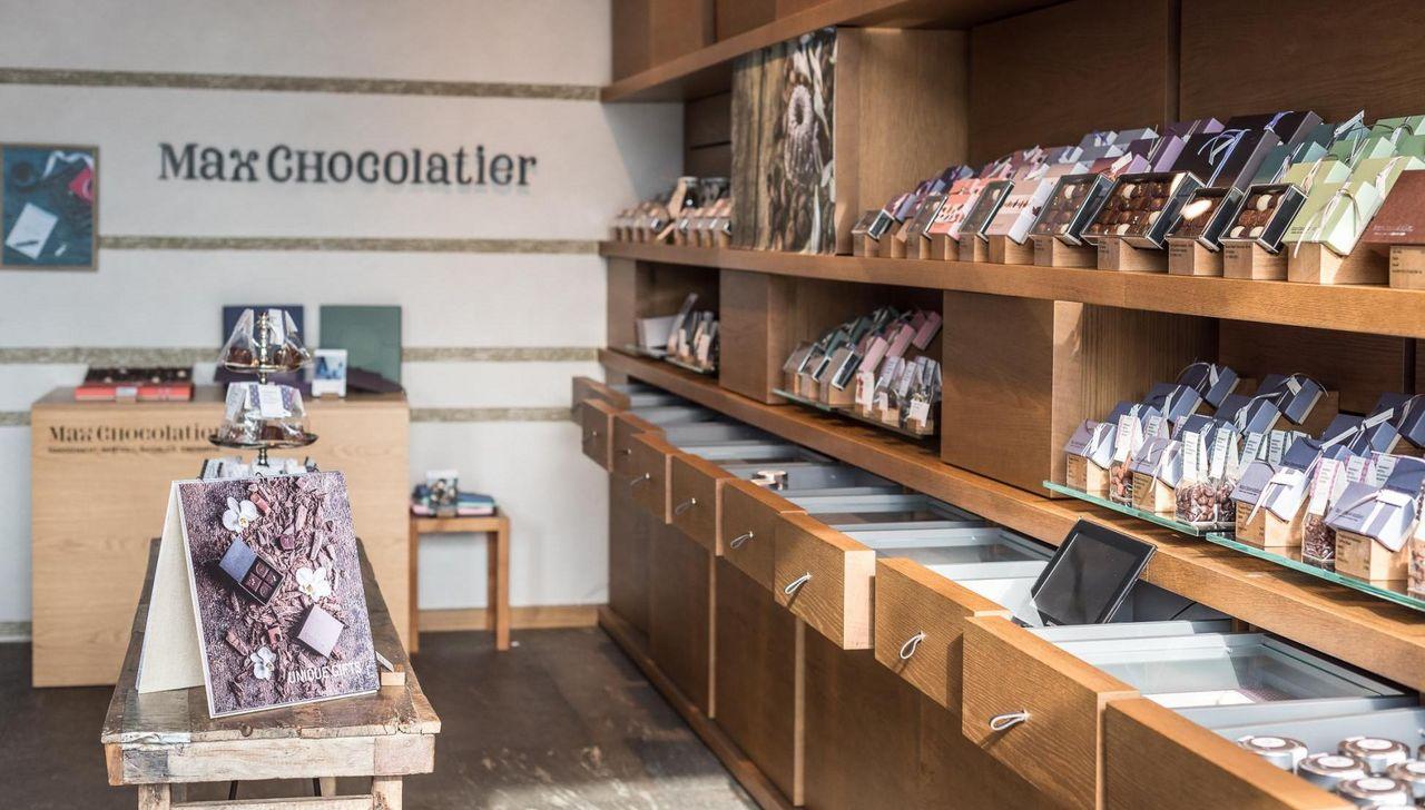 Dégustation chez Max Chocolatier