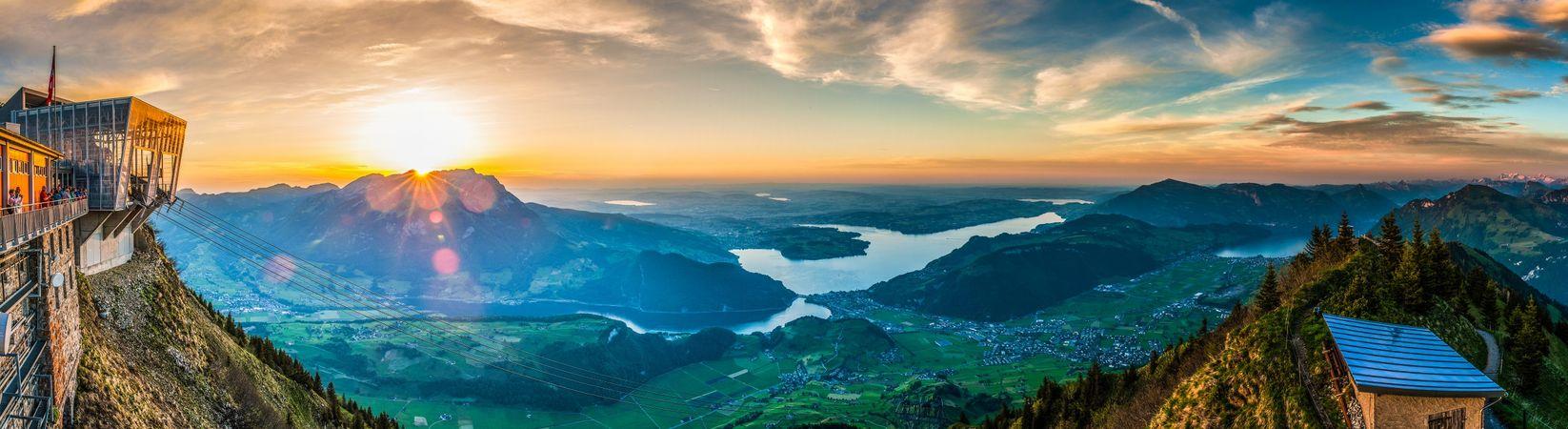 Den Gipfel umrunden – Stanserhorn
