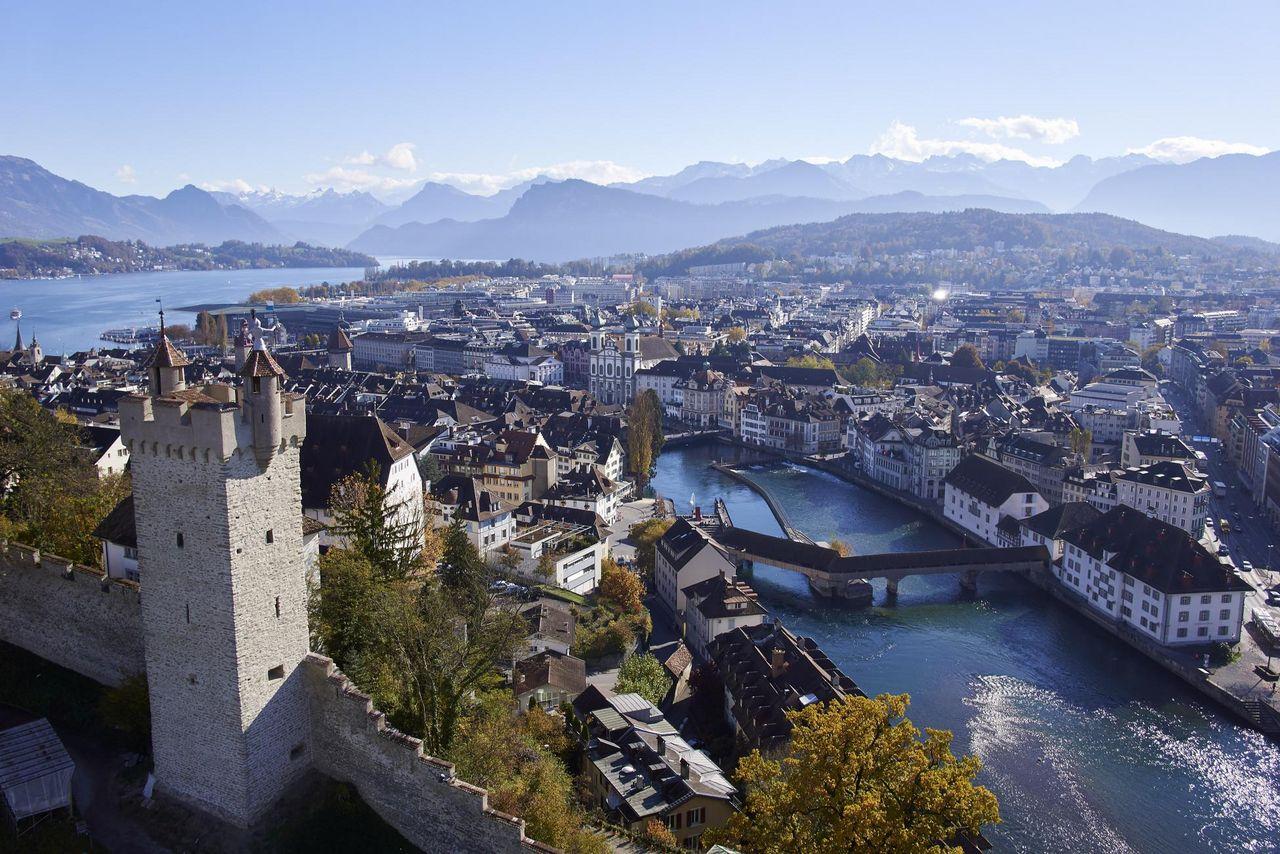 Carte d'hôte Lucerne