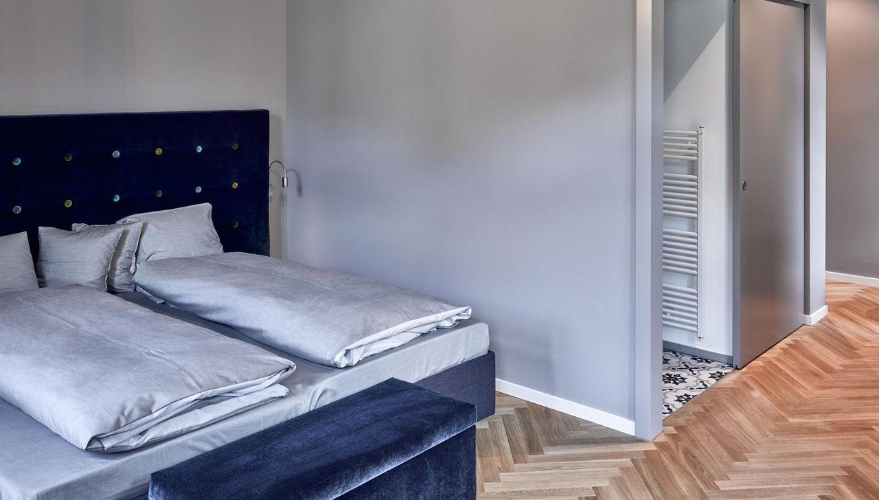 Chambre dans l'Hôtel Bellevue-Terminus à Engelberg