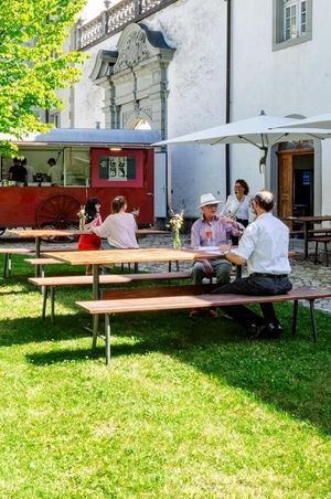 Gastwirtschaft im Abteihof - Einsiedeln