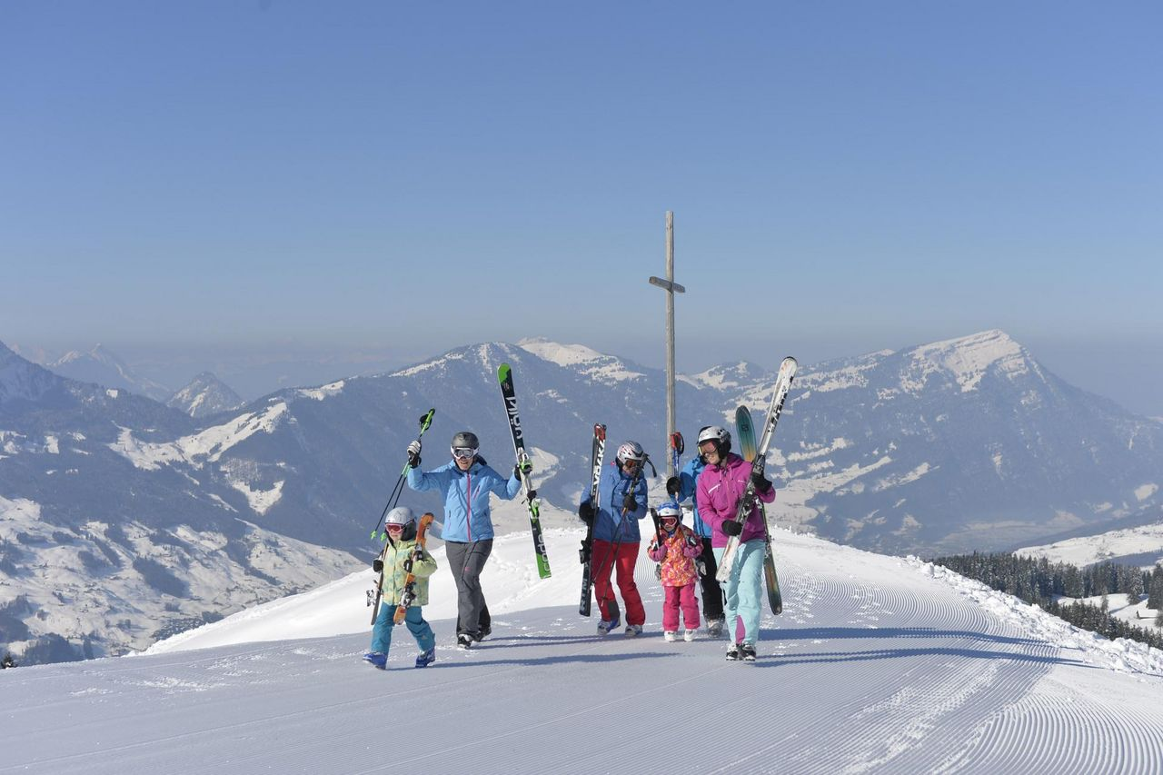 Winter sports resort Sattel-Hochstuckli