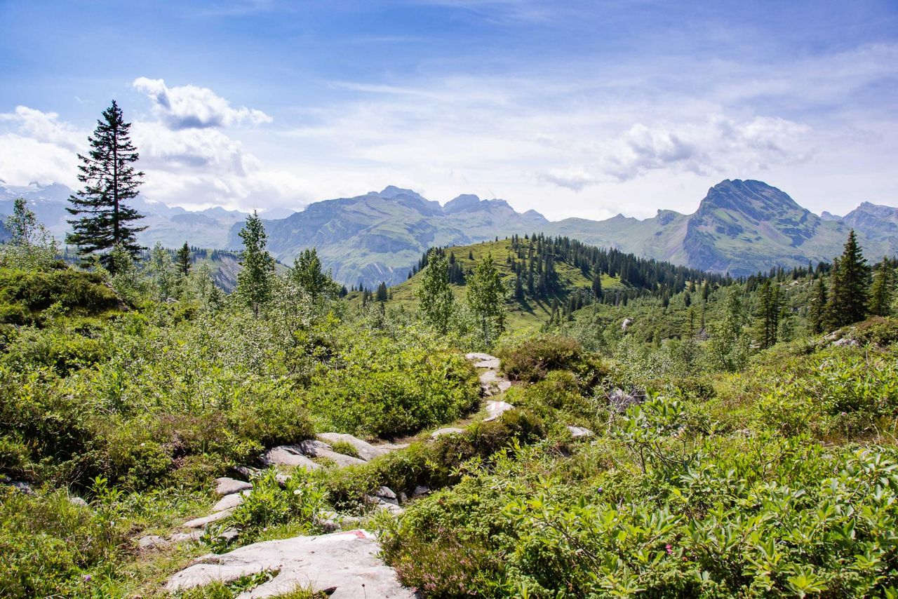 Stoos-Muotatal: over 340 km of hiking trails