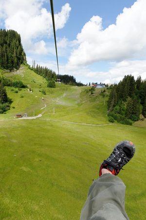 Sternensauser zipline – Hoch-Ybrig