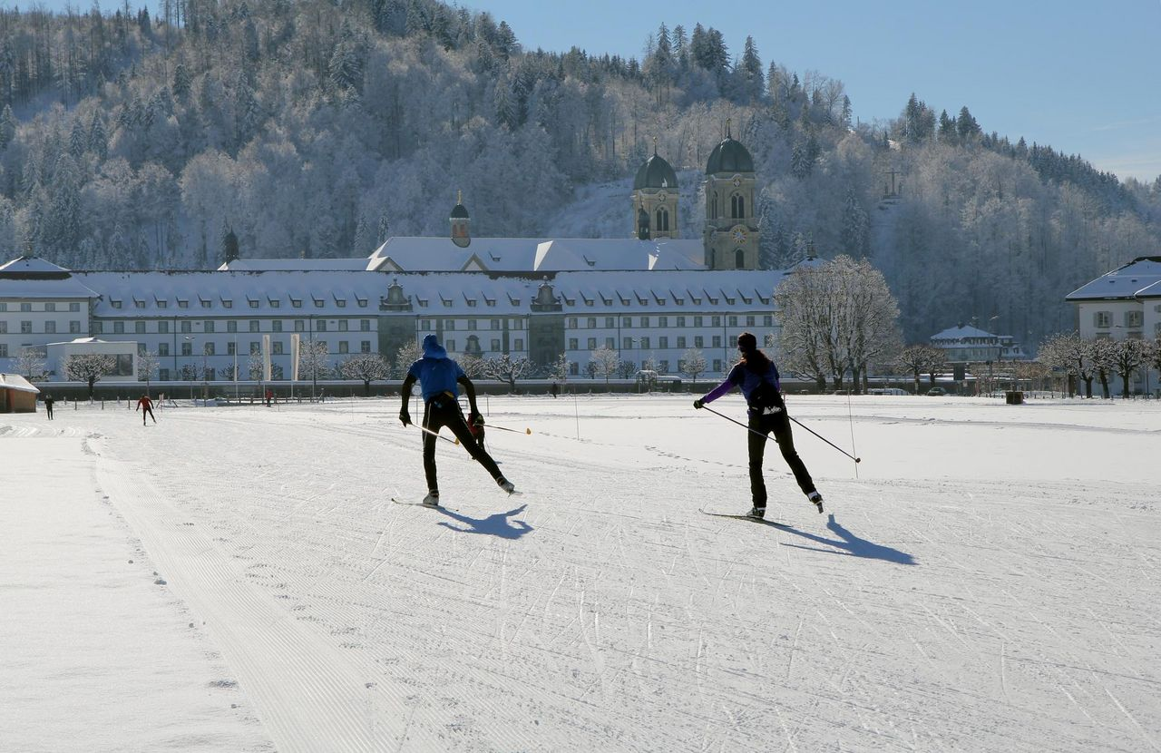 Cross-country skiing Einsiedeln