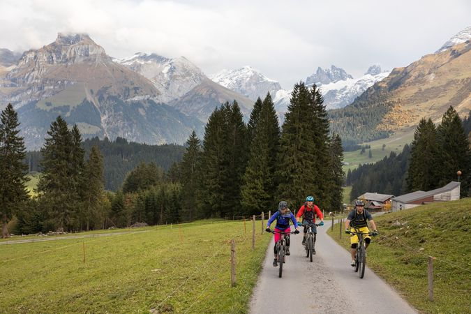 Alpkäse-Trail E-Bike Etappe Untertrübsee/Gerschnialp