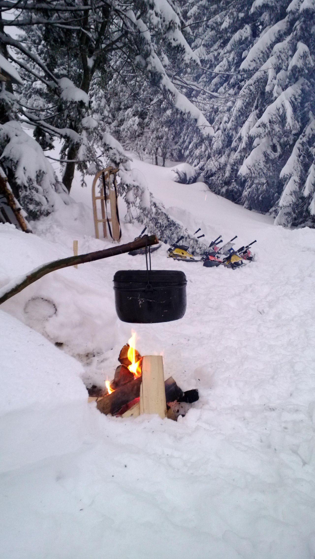 Alpthal: Schneeschuhtour Schlittelstübli