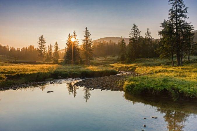 UNESCO Biosphere Entlebuch moorland path