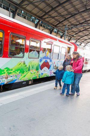 Globi-Express Lucerne-Engelberg