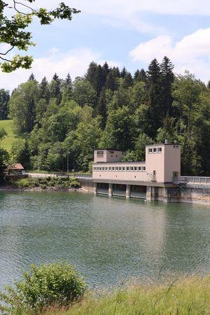 Staumauer-Besichtigung Sihlsee