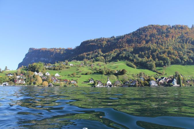 First some fish, then the Bürgenstock!