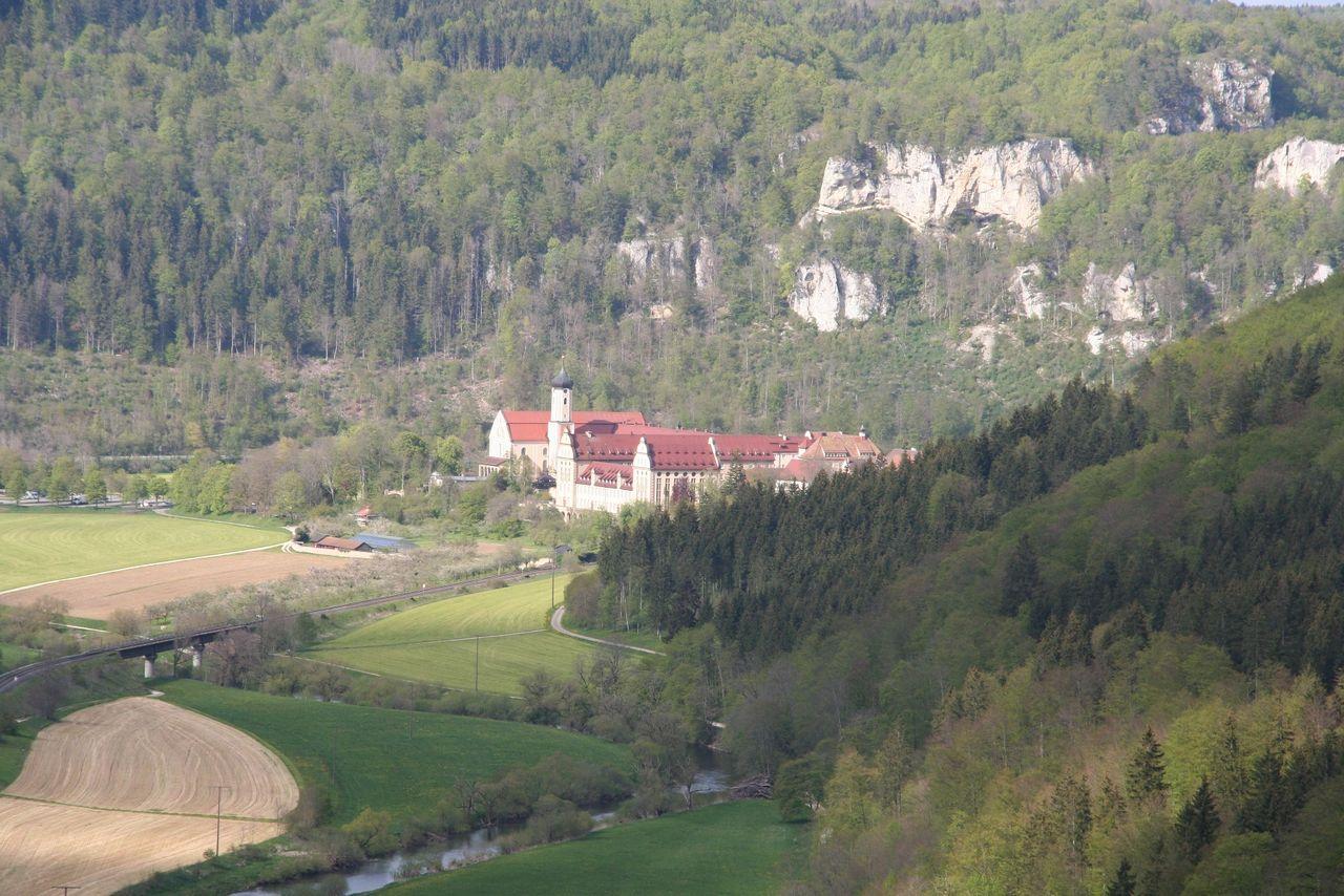 MEINRADWEG - Etappe 1.2 - Hechingen-Beuron