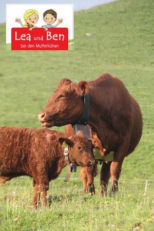 Erlebnisweg - Lea und Ben bei den Mutterkühen