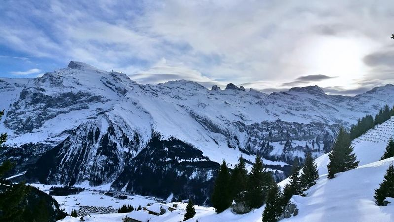 Schneetandli trail Brunni
