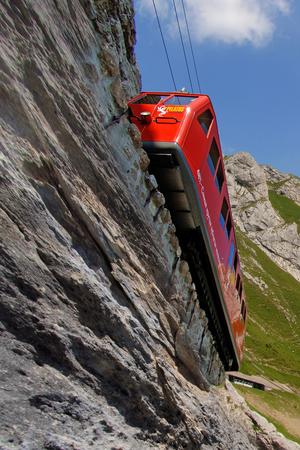 Le train à crémaillère le plus raide du monde